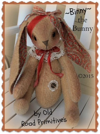 ***NEW*** Binny the Bunny Pattern
