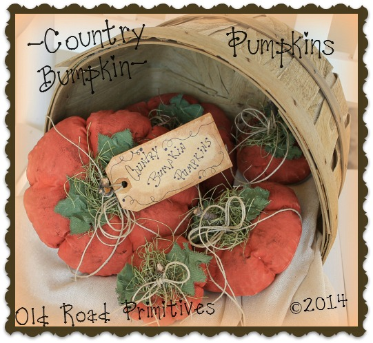 Country Bumpkin Pumpkins Pattern