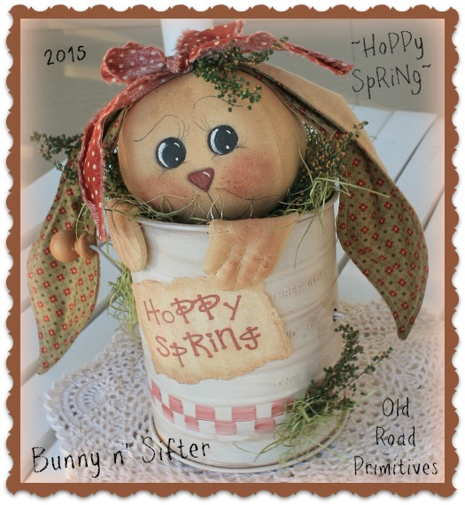 #ORPS308 Hoppy Spring Bunny n' Sifter Pattern