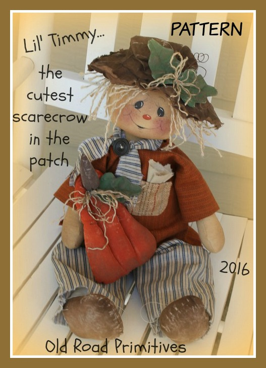 #ORPP ***NEW*** Lil Timmy the Cutest Scarecrow in the Patch Pattern