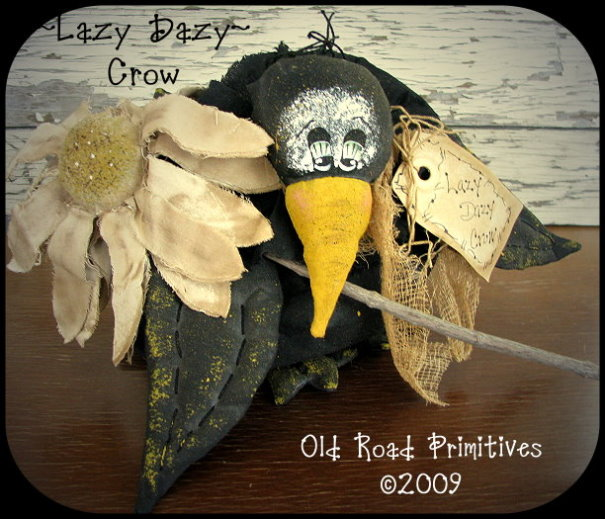 Lazy Dazy Crow Pattern