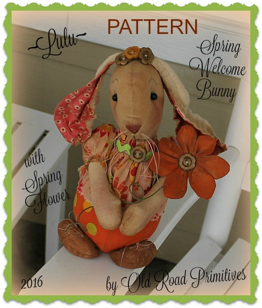 Lulu Spring Welcome Bunny Pattern