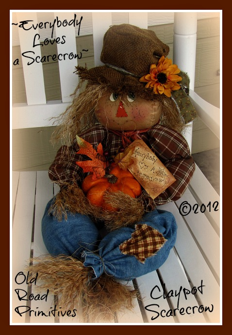 Everybody Loves a Scarecrow Pattern