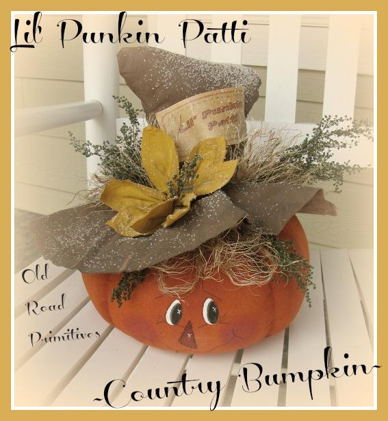 Lil' Punkin Patti Country Bumpkin Pattern