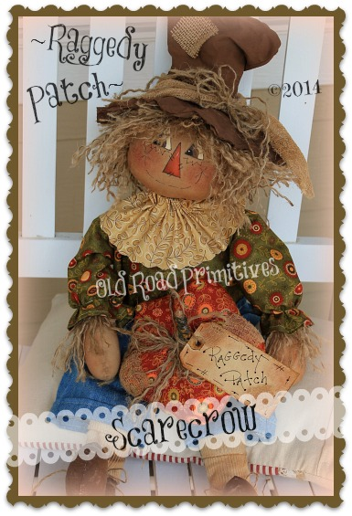 Raggedy Patch Scarecrow Pattern