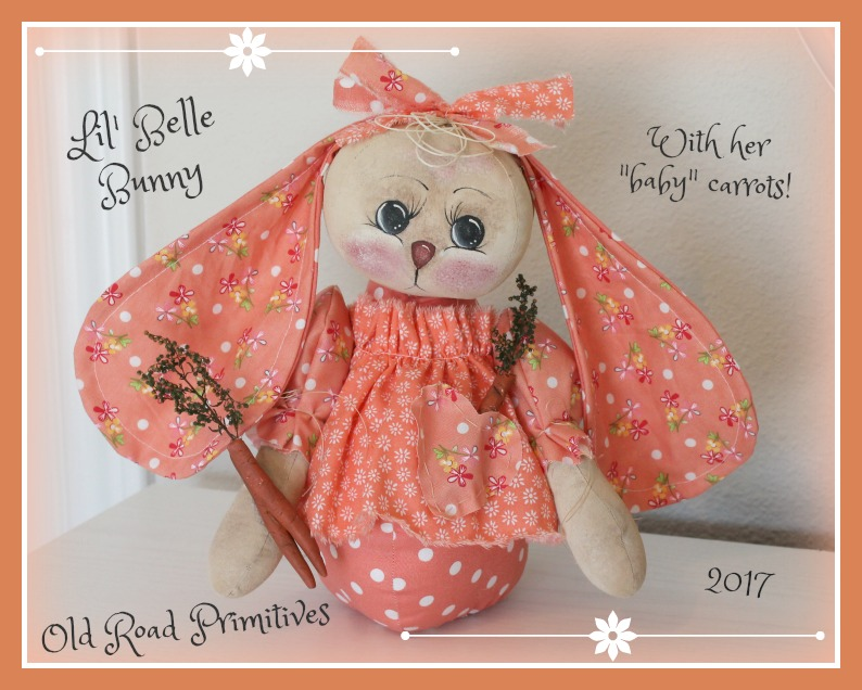 #ORPS368 Lil' Belle Bunny Pattern