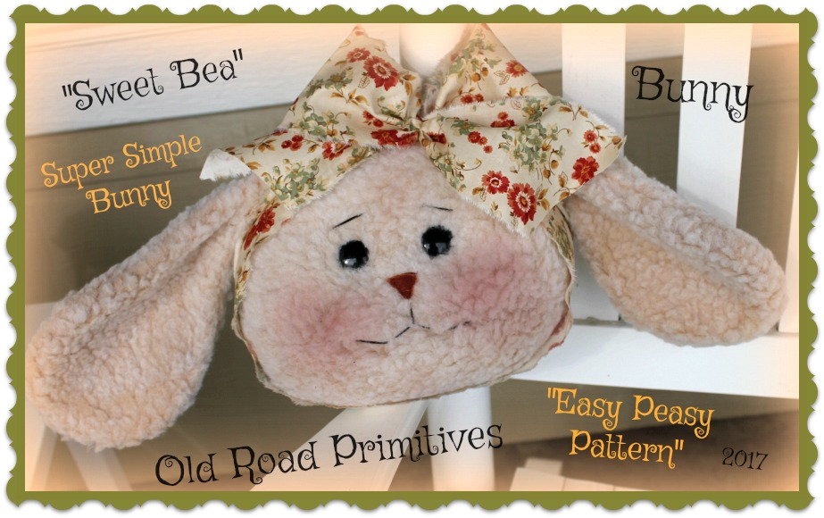 #ORPS370 Sweet Bea Bunny Pattern
