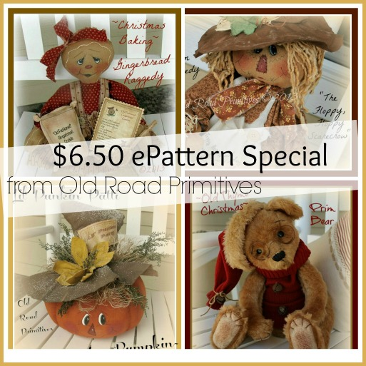 SAVE, SAVE, SAVE on ORP's $6.50 ePattern Special...-Pattern,Patterns,ePattern,ePatterns,Primitive Patterns,Primitives,
