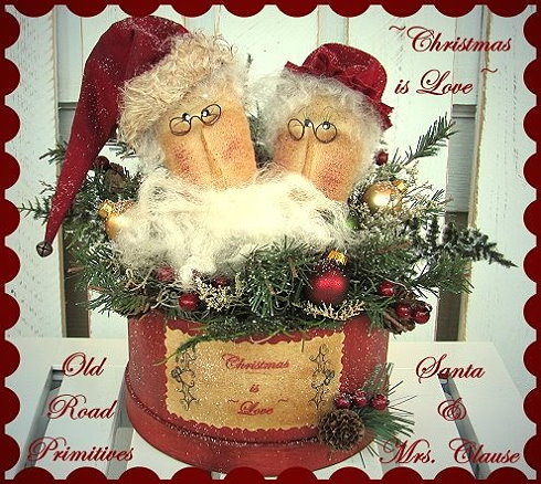 Christmas is Love Santa & Mrs. Clause Pattern