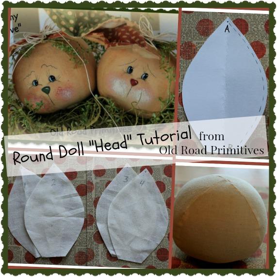 Round Doll Head Tutorial
