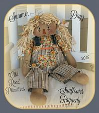#ORPP ***NEW*** Summer Dayz Sunflower Raggedy Pattern