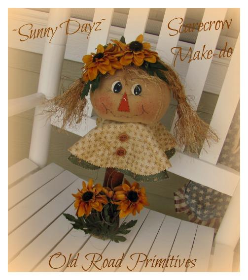 Sunny Dayz Fall Scarecrow Make-do Pattern