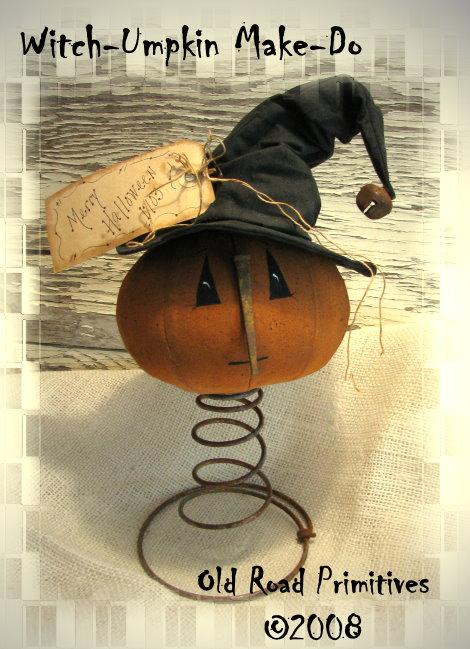 Witch-Umpkin Make-Do Pattern